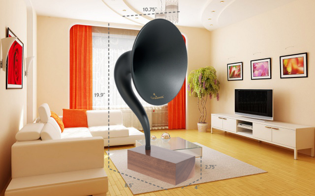 граммофон с bluetooth - gramovox