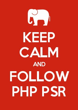 Keep calm and follow PHP PSR